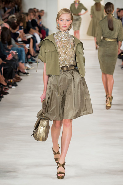 Показ Ralph Lauren на Неделе моды в Нью-Йорке