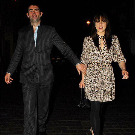 Мелани и Томас Старр во время вечерней прогулки