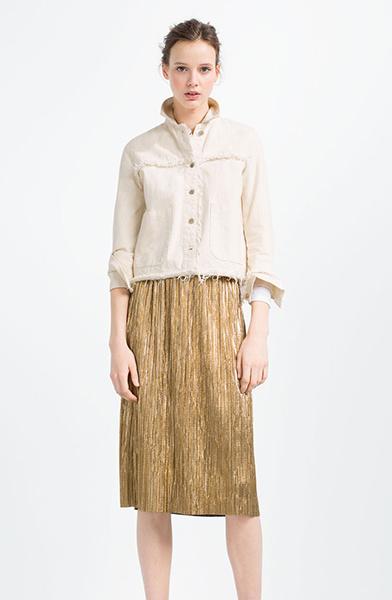 Блуза, юбка Zara, фото