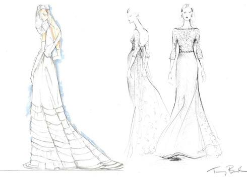 Изобр по > Свадебные Платья Рисунки