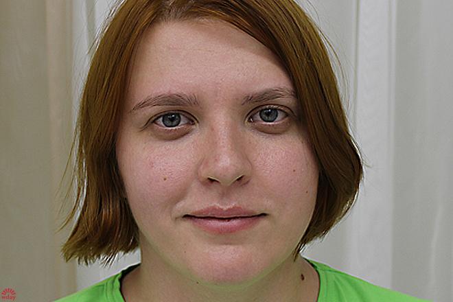 Ирина Костерина, макияж до и после, фото