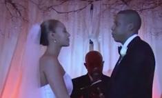 Бейонсе и Джей Зи впервые показали видео со своей свадьбы