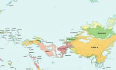 выглядеть карта мира уровень воды поднимется опустится 1000