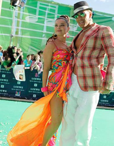 Наташа Королева и Сергей Глушко на Премии Муз-ТВ