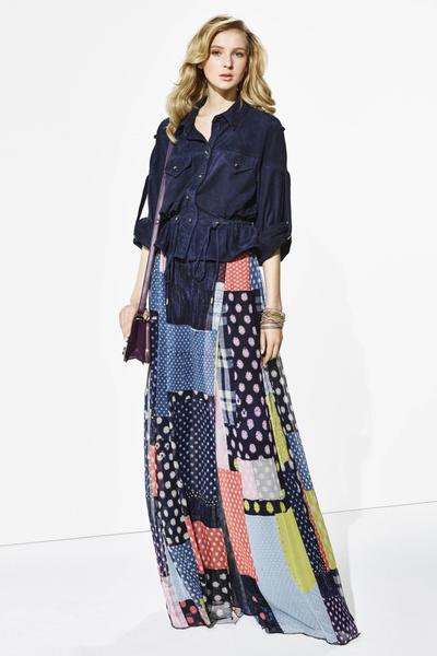 Новая круизная коллекция Diane von Furstenberg | галерея [1] фото [4]