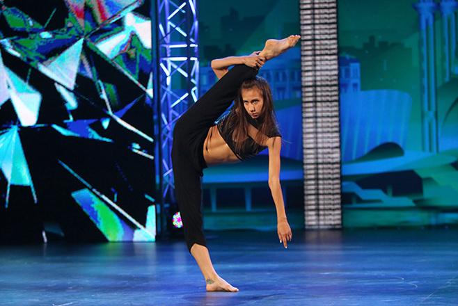Юлия Гаффарова на шоу ТАНЦЫ 2 сезон на ТНТ кастинг 2015 фото