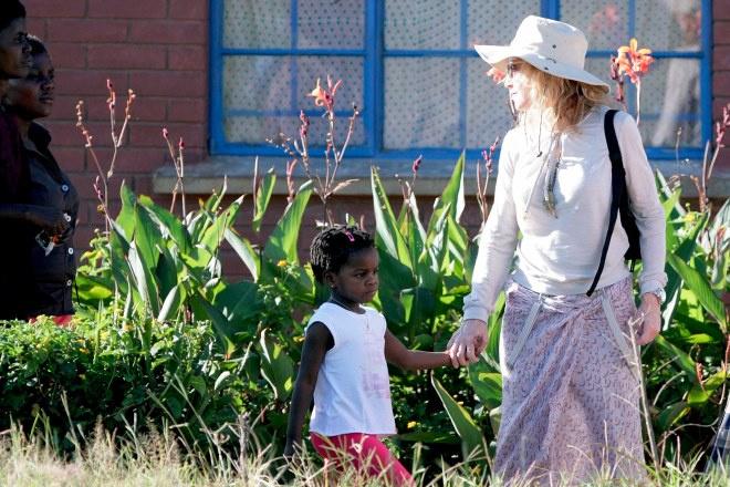 Мадонна посетила Малави