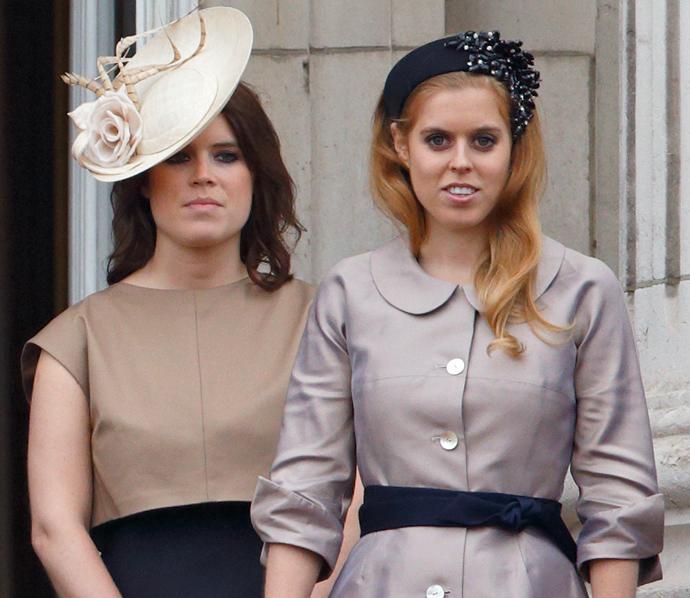 Принцессы Эжени и Беатрис