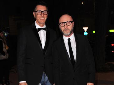 Доменико Дольче (Domenico Dolce) и Стефано Габбана (Stefano Gabbana) стали музами Вуди Аллена