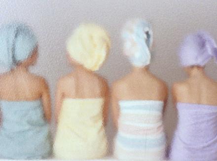 Женщины в бане