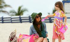 Кэти Холмс берет уроки стиля у своей дочери Сури