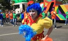 Пермский карнавал в День города: Ромео и Джульетта, богатыри и единорог