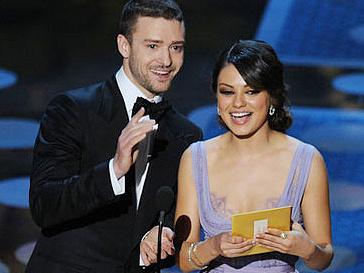 Джастин Тимберлейк (Justin Timberlake) и Мила Кунис (Mila Kunis) встречаются