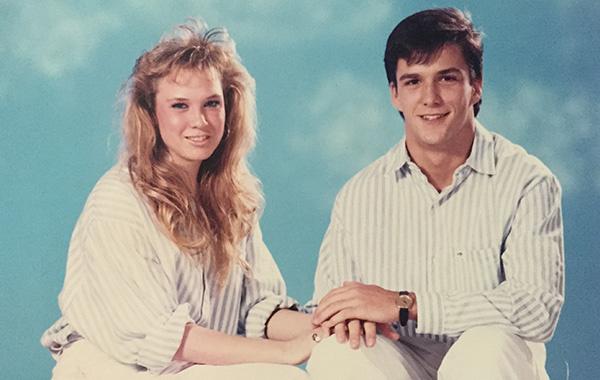17-летняя Рене Зеллвегер с бойфрендом Реттом Бейкером