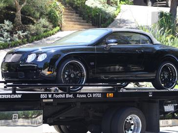 Bentley Дэвида Бекхэма