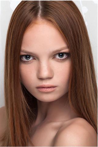 Молодые модели:фото до и после