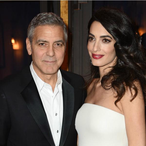 Джордж Клуни познакомил собственных новорожденных детей сдедушкой