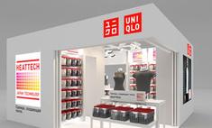 Uniqlo открывает временный магазин