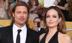 Анджелина Джоли снова ждет двойню