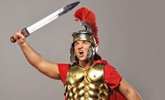 На улицы Лондона вшили римские гладиаторы