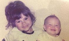 Виктория Бекхэм впервые показала свое детское фото