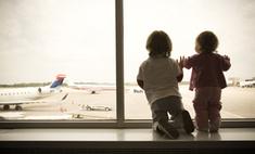 Первый перелет с малышом: пять лайфхаков