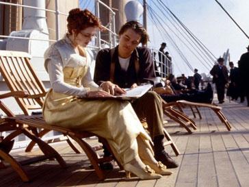 Герои Кейт Уинслет (Kate Winslet) и Леонардо ДиКаприо (Leonardo DiCaprio) самые романтичные в истории кино