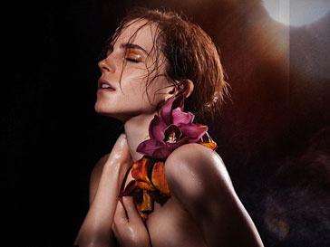 Эмма Уотсон (Emma Watson) снялась в откровенной фотосессии