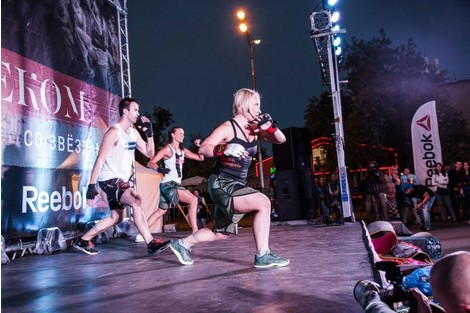 Спортивная хроника: звездные участники тренировок Reebok | галерея [1] фото [7]