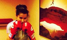 Тина Канделаки занялась боксом