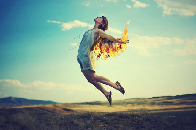 к чему снится ожог