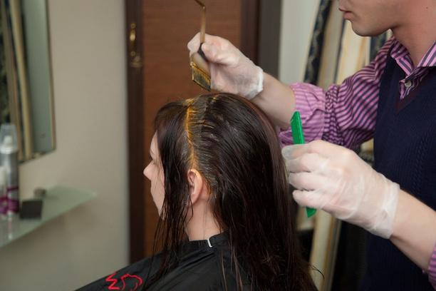 Шаг № 1: подготовка волос
