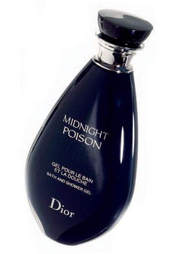 4. Парфюмированный гель для душа Midnight Poison, Dior