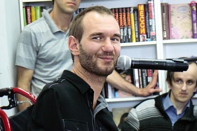 Ник Вуйчич в Челябинске