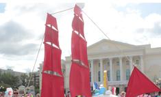 «Парад колясок» в Тюмени: победили паруса!