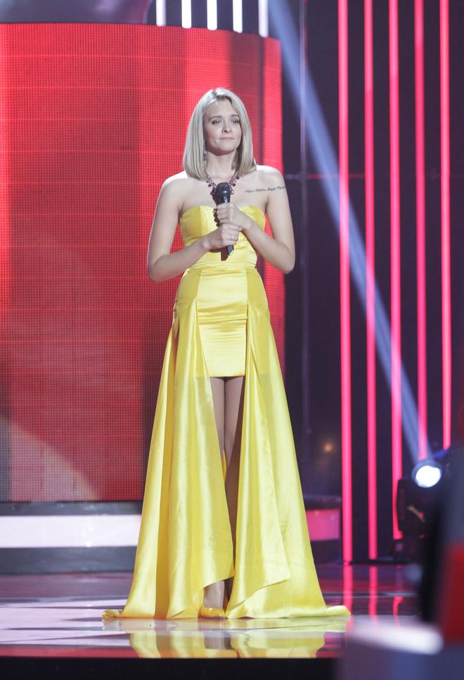 Александра Воробьева Голос третий сезон на первом канале