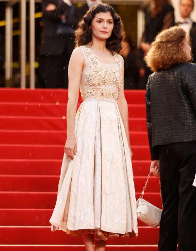 Одри Тоту (Audrey Tautou) на закрытии Каннского фестиваля-2012