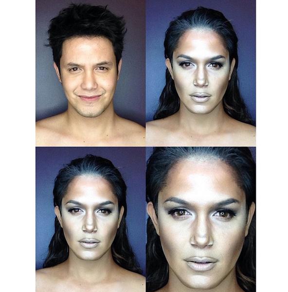 Филиппинский визажист перевоплотился в звезд с помощью макияжа   галерея [1] фото [1]