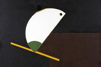 2009. «Композиция». X.M. 71 x 71 cm © Государственный Эрмитаж