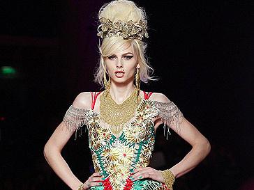 Показ Jean Paul Gaultier Haute Couture