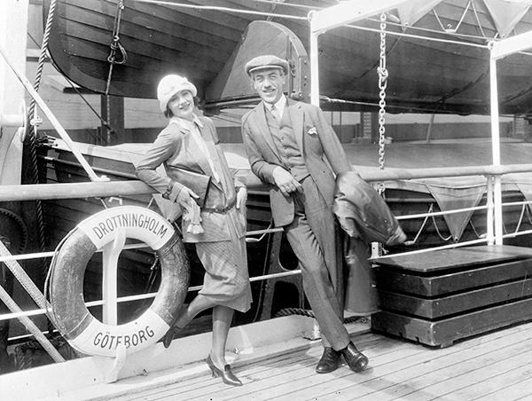 истории любви известных людей Мориц Стиллер и Грета Гарбо