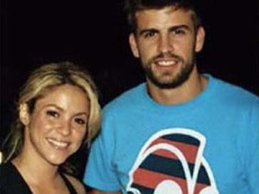 Шакира(Shakira) и Жерар Пике (Gerard Pique) попались