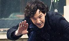 Как снимали самоубийство Шерлока