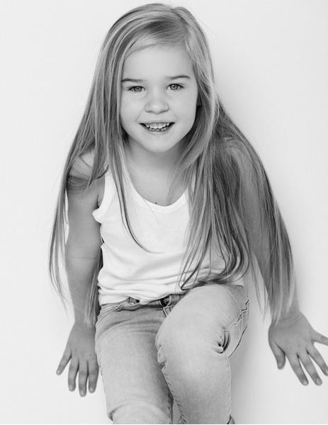 Юная волгоградка в финале Little Top Model of Russia-2015