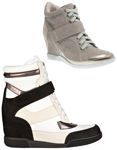 Сверху вниз: кроссовки Tosca Blu Shoes; кроссовки Marc by Marc Jacobs