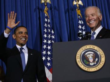 Барак Обама (Barak Obama) и Джозеф Байден (Joseph Biden) выступают за тесное сотрудничество России и США