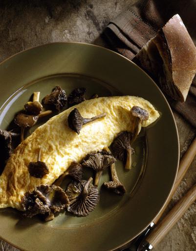 Рецепт омлета с грибами