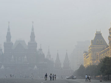 Москва в дыму