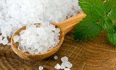 Используем морскую соль для ванн с пользой и без вреда
