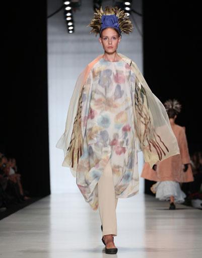 Mercedes-Benz Fashion Week Russia: коллекция Татьяны Парфеновой весна-лето 2013
